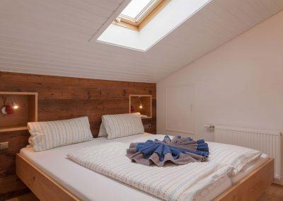 Schlafzimmer Ferienwohnung Oberstdorf Sonnenheim