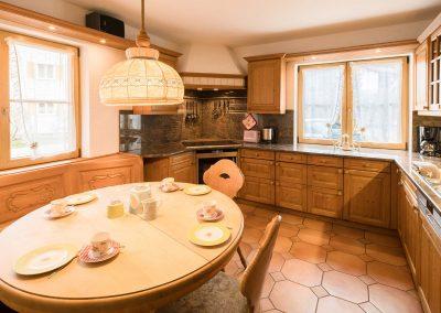 5 Raum Familien Ferienwohnung Wohnküche