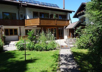 Ferienwohnung mit Garten Oberstdorf
