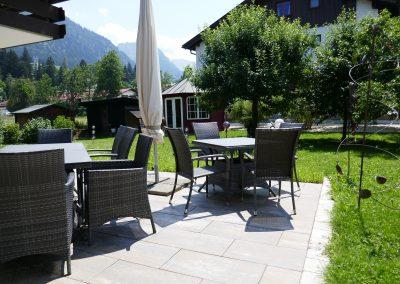 Oberstdorf Hotel Terrasse