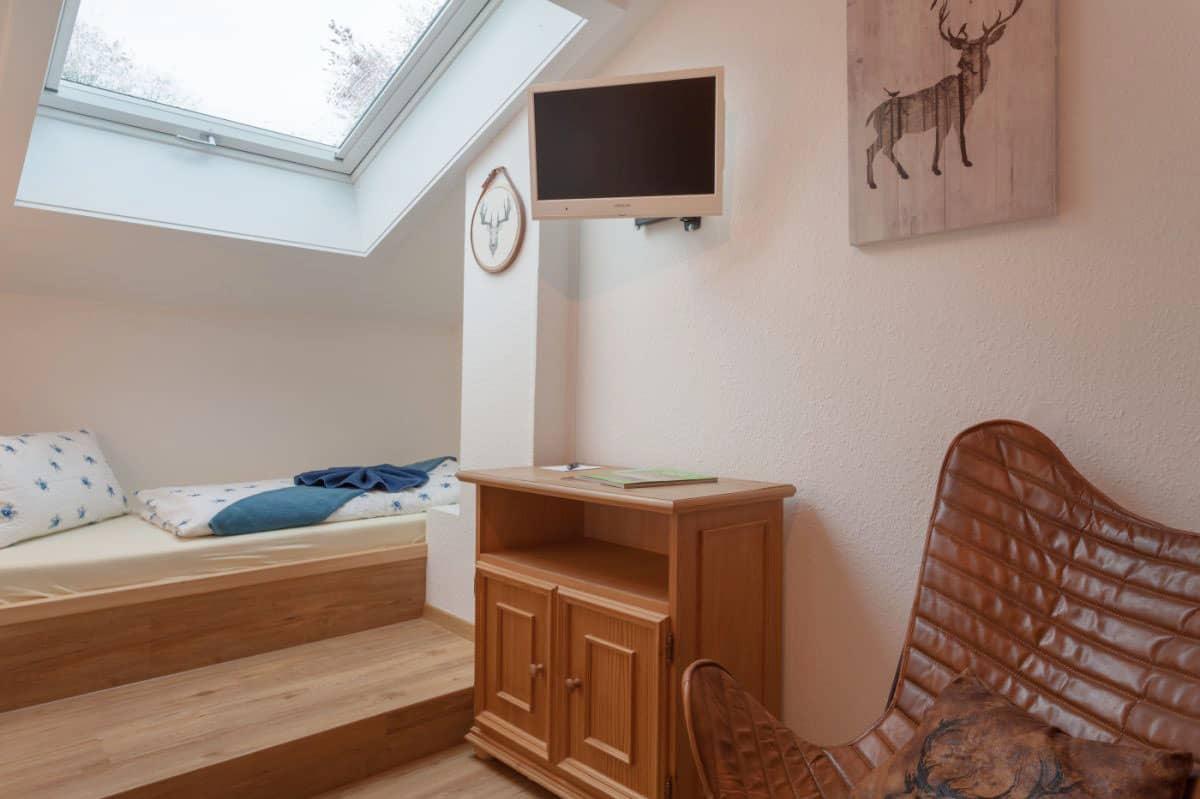 Ferienhotel Einzelzimmer ohne Balkon