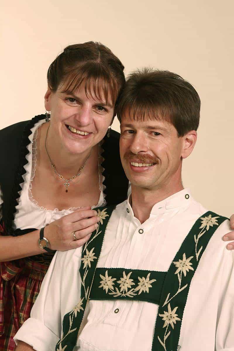 Michaela und Jörg King sind Ihre Gastgeber in Oberstdorf.