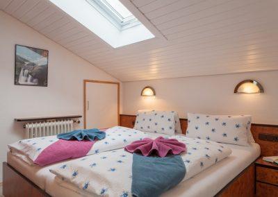 3 Raum Ferienwohnung Schlafzimmer Sonnenheim