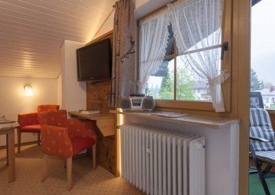 3 Raum Fewo Oberstdorf mit Balkon