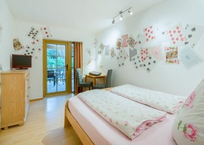 Sonnenheim Fewo Schlafzimmer