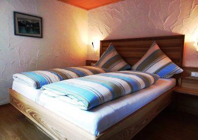 Schlafzimmer Fewo Oberstdorf 4 Raum