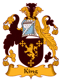 Wappen der Familie King in Oberstdorf