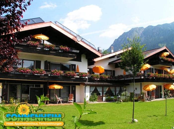Das Sonnenheim Hotel in Oberstdorf