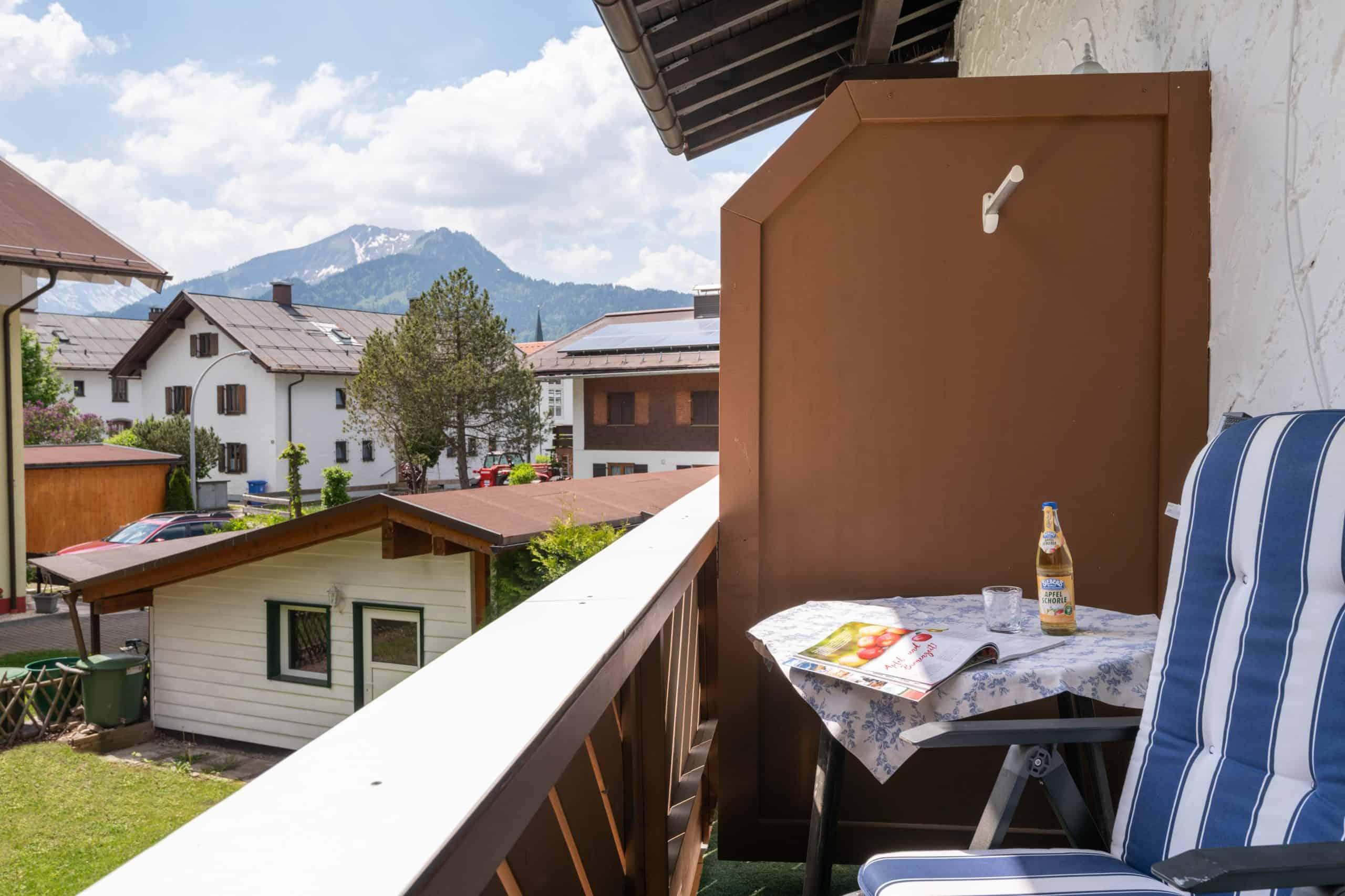 Ferienhotel Einzelzimmer mit Balkon