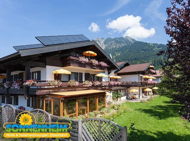Das Hotel Sonnenheim in Oberstdorf