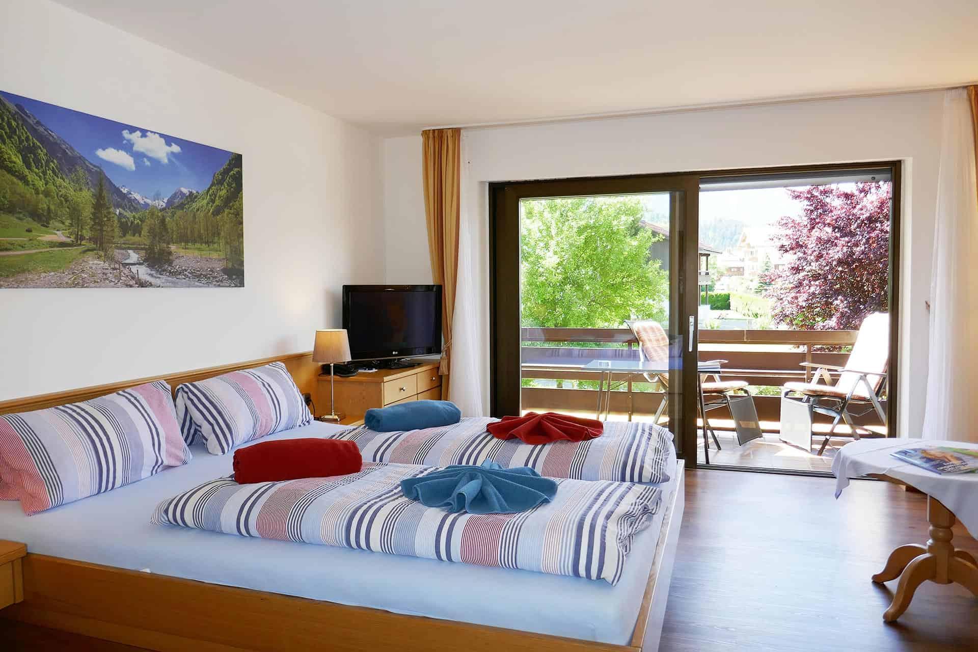 Sonnenheim Hotel Appartement Balkon / Terrasse
