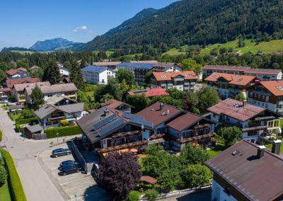 Hotel Sonnenheim von oben nach Norden