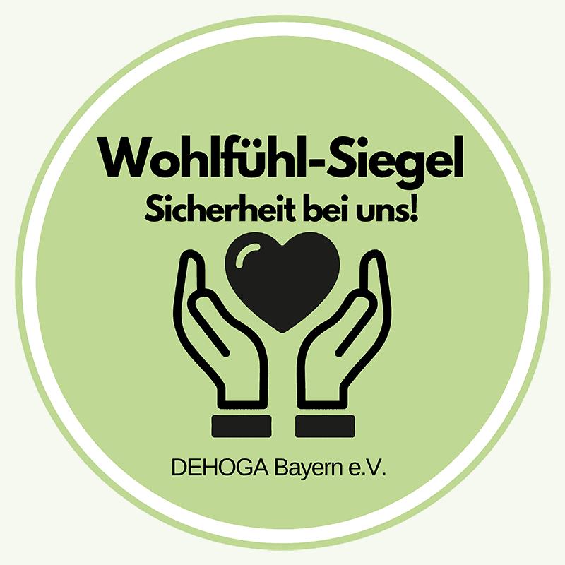 Wohfühl-Siegel