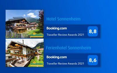 Danke an unsere Booking.com Gäste
